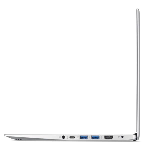宏碁 acer Swift 1 SF113-31 銀 300G固態碟特仕升級版【N3350/13.3吋/指紋辨識/續航/Win10 S/Buy3c奇展】C4W7