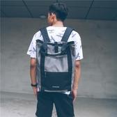 後背包休閒後背包男女 韓版原宿ulzzang學院風校園學生背包個性書包潮包 維科特3C