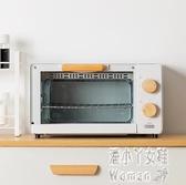 220v烤箱家用 小型 烘焙多功能迷你電烤箱全自動復古宿舍11升 JY6905【潘小丫女鞋】