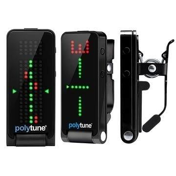 ☆唐尼樂器︵☆免運費 TC Electronic Polytune Clip 吉他/ Bass 夾式調音器(黑白兩色)