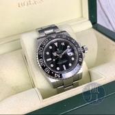 BRAND楓月 ROLEX 勞力士 116710LN 黑色陶瓷圈 GMT-MASTER2 AT 瑞士錶 手錶 配件 黑水鬼