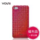 【福利品】Vouni iPhone 4S / iPhone 4 激光雷射方格保護殼