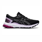 Asics Gt-1000 9 (d) [1012A695-002] 女鞋 運動 休閒 慢跑 緩衝 支撐 亞瑟士 黑 銀