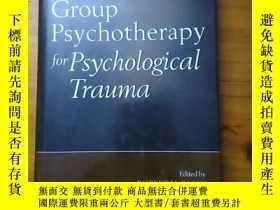 二手書博民逛書店Group罕見Psycho and Psychological Trauma《集體心裏治療與心裏創傷》Y197