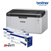 【搭原廠TN-1000三支】Brother HL-1210W 無線黑白雷射印表機