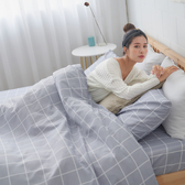 #U115#舒柔超細纖維5x6.2尺標準雙人床包+枕套三件組-台灣製(不含被套)