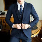(萬聖節鉅惠)西裝外套男士西服套裝青少年正韓結婚正裝單西外套修身休閒小西裝XW