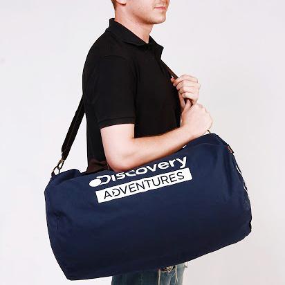 Discovery Adventures 航海系列 大容量行李袋 肩背包 52L《YV8705》快樂生活網