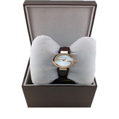 GUCCI雙G YA133516時尚女錶-天然珍珠貝/咖啡29mm GUCCI原廠公司貨