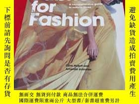 二手書博民逛書店Fabric罕見for Fashion【銅版紙彩印】Y11161
