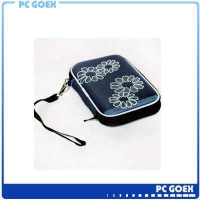 2.5 吋外接式硬碟 藍 行動電源 彩織紋防撞硬殼包☆pcgoex軒揚☆