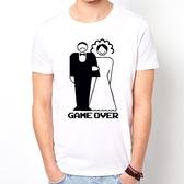 Game Over#2短袖T恤-3色 遊戲結束 婚禮 結婚 趣味 幽默 圖案 390 gildan fruit