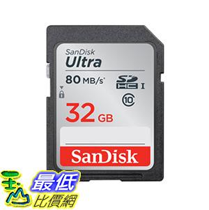 存儲卡 SanDisk 32GB Ultra Class 10 SDHC UHS-I Memory to 80MB (SDSDUNC-032G-GN6IN) a215dd