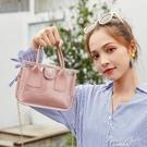 夏天透明小包包女2020新款潮時尚手提包果凍仙女包百搭側背斜背包 果果輕時尚