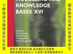 二手書博民逛書店Information罕見Modelling And Knowledge Bases Xvi (frontiers