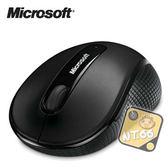 微軟 4000 藍光 無線滑鼠 Microsoft 黑色