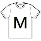 【T-Shirt (M)】短袖-T恤 背心  尺碼 - M