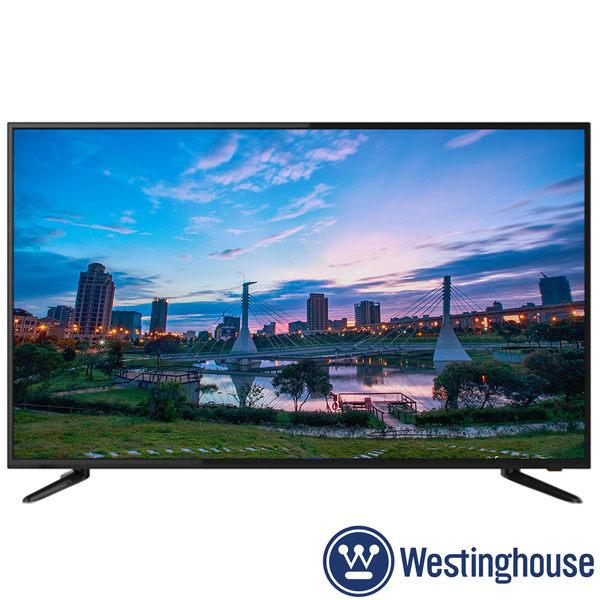 《送壁掛架及安裝》Westinghouse美國西屋 55吋DET-55A10K 4K UHD液晶電視 附視訊盒