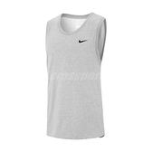 Nike 背心 Dri-FIT Men Training Tank 灰 黑 男款 訓練 運動休閒【ACS】 AR6070-063