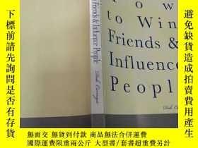 二手書博民逛書店How罕見to Win Friends &Influence P