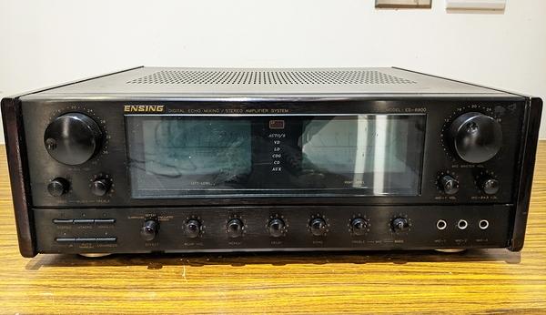 (展示機出清) 燕聲 ENSING ES-6900 卡拉OK綜合擴大機 數位迴聲混音