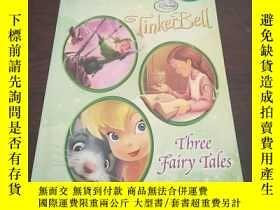 二手書博民逛書店Tinker罕見Bell: Three Fairy Tales