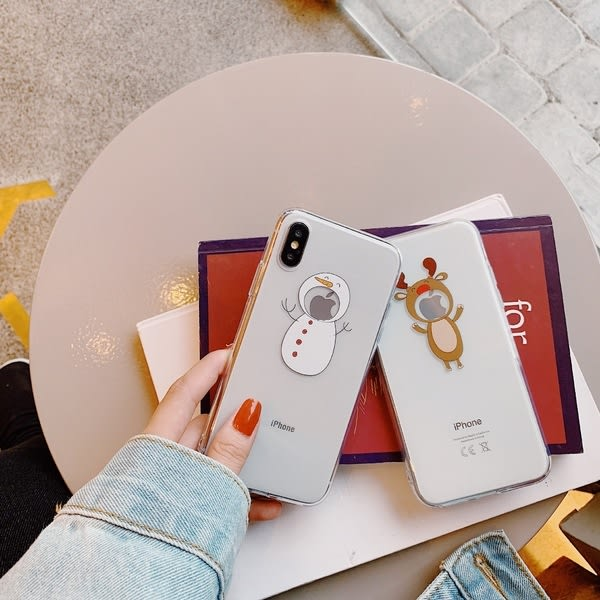 【SZ33】惡搞聖誕老人TPU軟殼 iphone xs max 手機殼 iphone 7 plus手機殼 iphone 6s plus 手機殼 XR