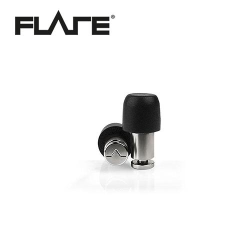 【敦煌樂器】Flare Isolate MiNi系列鈦金屬專業級英國防躁耳塞 金屬銀色款