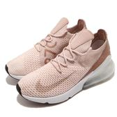 Nike 慢跑鞋 Wmns Air Max 270 Flyknit 編織鞋面 大氣墊 米白 白 女鞋【PUMP306】 AH6803-801