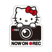 日本製 KITTY CAR 貼紙 裝飾貼紙 可內可外貼 866333 奶爸商城