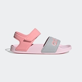 Adidas Adilette Sandal 拖鞋-05 [FY8849] 中童鞋 運動 休閒 涼鞋 愛迪達 粉紅 灰