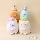 角落生物娃娃好友系列6吋- Norns 正版授權 Sumikko Gurashi玩偶 小小夥伴Minikko 炸蝦 包袱巾 小草 蝸牛