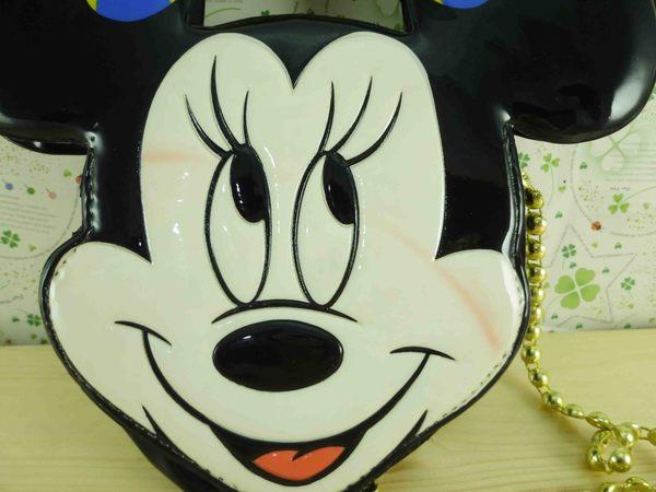 【震撼精品百貨】Micky Mouse_米奇/米妮 ~造型側背袋-米妮
