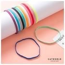 Catworld 糖果色止滑運動髮帶(單條)【18003505】‧F