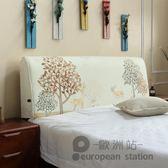 靠枕/現代簡約布藝靠墊拆洗歐式「歐洲站」