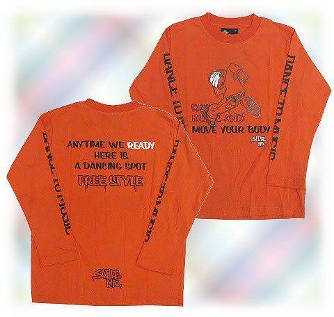 【波克貓哈日網】薄長袖T恤◇ DACK DIVE ◇《130cm》橘色