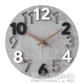 【快出】掛鐘 簡約現代家用鐘錶墻上藝術靜音大氣輕奢掛鐘客廳時尚掛錶創意時鐘