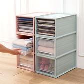 疊加抽屜式收納箱多層衣物收納盒塑料衣服整理箱玩具儲物箱yi 交換禮物