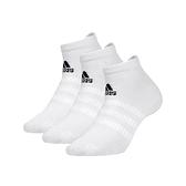 ADIDAS 男女運動襪(三入 短襪 裸襪 襪子 愛迪達 免運 ≡排汗專家≡