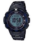 【分期0利率】CASIO 卡西歐 太陽能 電波錶 登山錶 溫度/ 高度/ 氣壓/ 羅盤 公司貨 PRW-3100YT-1DR