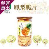 中寮農會 1+1 鳳梨脆片 (110g-罐)2瓶一組  共4瓶【免運直出】