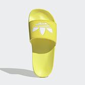 Adidas Adilette Lite W [FU9140] 女鞋 拖鞋 涼鞋 柔軟 避震 簡約 運動 愛迪達 黃白