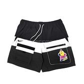 Nike NSW Hyperflat 男 黑 白 塗鴉 拼接 多口袋 拉鍊口袋 抽繩【ACS】 DM7919-014