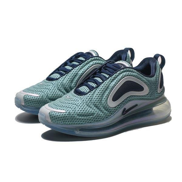 NIKE WMNS AIR MAX 720 藍綠 銀 炫光 大氣墊 慢跑鞋 女(布魯克林) AR9293-001 | 慢跑鞋 |