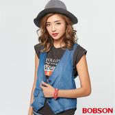 BOBSON 女款天絲棉牛仔背心(27127-53)
