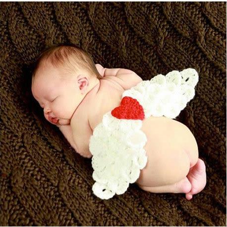 【發現。好貨】新生兒可愛服飾 天使翅膀造型 寶寶攝影服裝服飾 寶寶滿月百天拍照服 寶寶滿月禮
