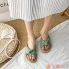 沙灘鞋 網紅超火風仙女涼拖鞋女外穿潮2021年夏季新款時尚百搭沙灘鞋 愛丫 新品
