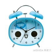 北極星創意鬧鐘靜音床頭兒童鬧鐘簡約個性電子鬧鐘小鬧鐘學生鬧鐘 莫妮卡小屋