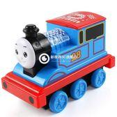 慣性耐摔聲光音樂火車卡通滑行小車兒童玩具火車頭汽車模型-Rtwj57