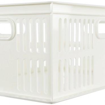 KEYWAY 總理25萬用籃 大尺寸款 8.5L 白色 DT-25 32.7x24x13.3cm
